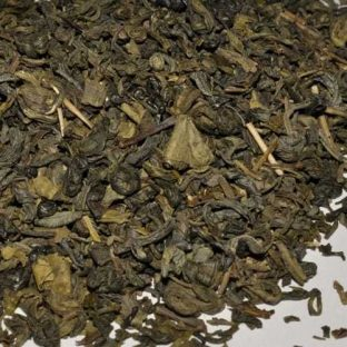 Green Earl Grey tea