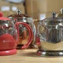 Le teapot glass teapot