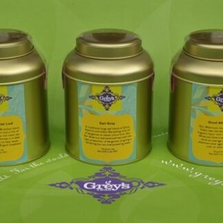 Gift caddies, selection A front view