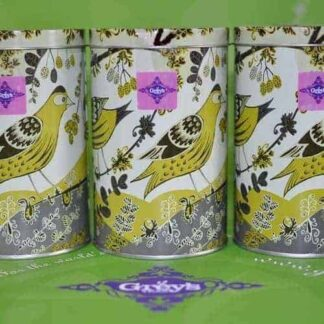Tin tea gift caddies