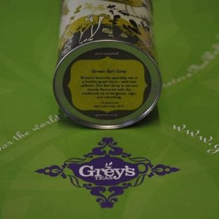 Gift caddy base label