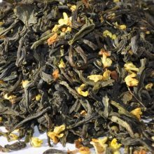 Green tea Osmanthus