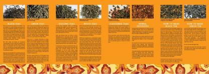 Tea Guide inside pages